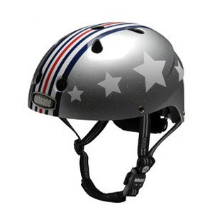 Silver Fly Little Nutty Kids Helmet