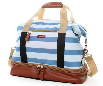 Sky Stripes Midway Weekender Bag