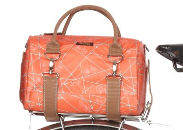 Coral Bike Ride Logan Tote