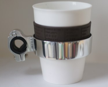 Bike Cup Holder With Handlebar Mount