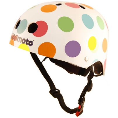 Kiddimoto Pastel Dotty Helmet
