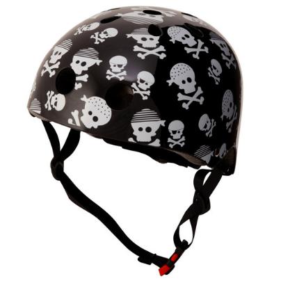 Kiddimoto Skulls Black Helmet