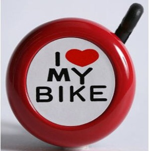 I Heart My Bicycle Bell 299x303 Gift Ideas for Her