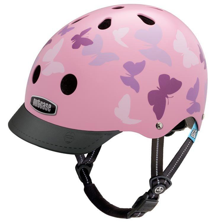 Butterfly bike helmet