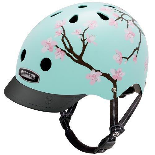 cherry blossom helmet