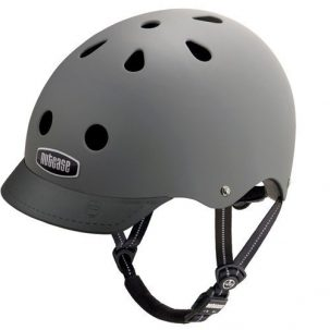 Grey Bike Helmet Nutcase Helmets