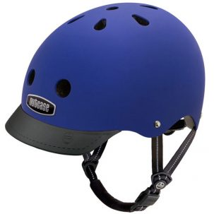 Cobalt Blue Bike Helmet Nutcase