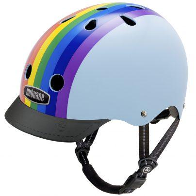 Rainbow Sky Helmet