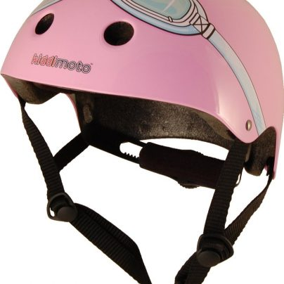 Pink Goggle Helmet