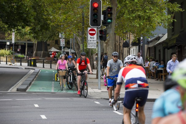 City of Sydney - Prymont Cycleway - Union Street 2015