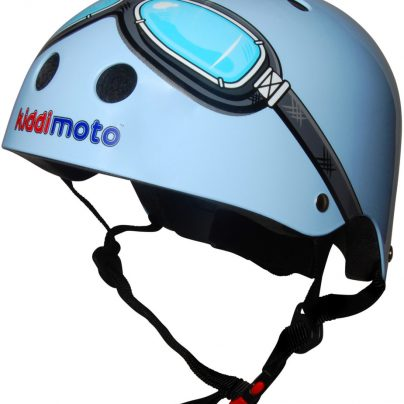 Blue Goggle Helmet