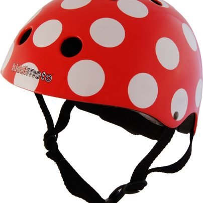 Red Dotty Helmet