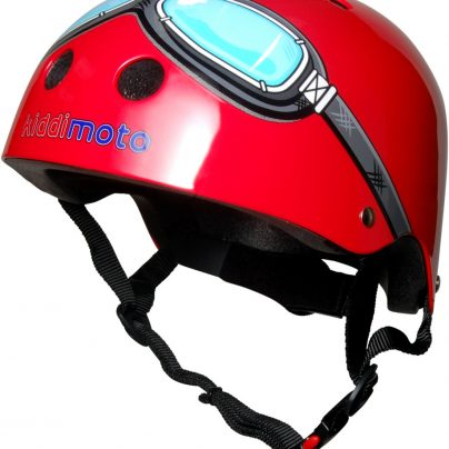 Red Goggle Helmet