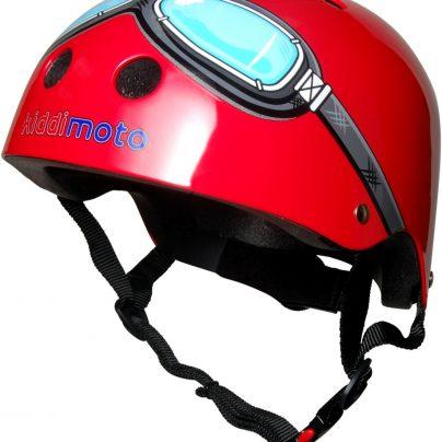 Red Goggle Helmet