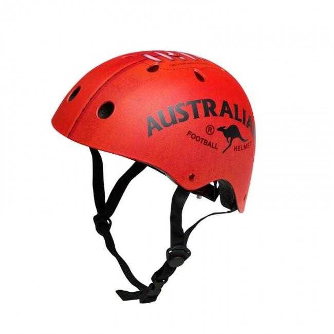 Australian football helmet