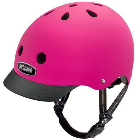 fuchsia helmet