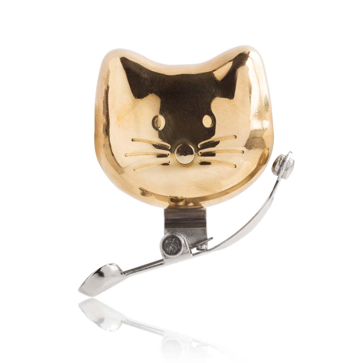 Cat bike bell