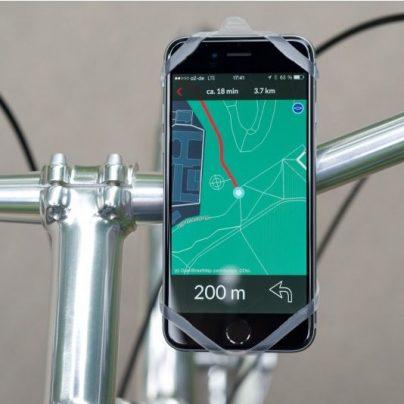 Finn Universal Smartphone Mount For Bikes